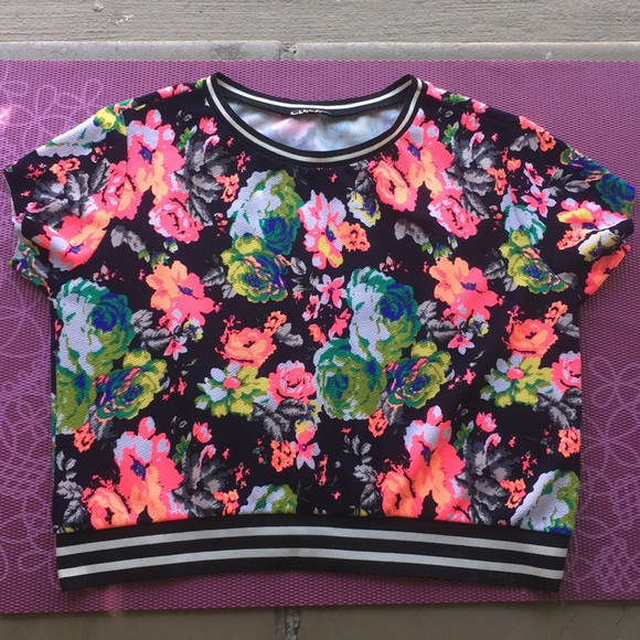 cleo Tops - Cute floral top